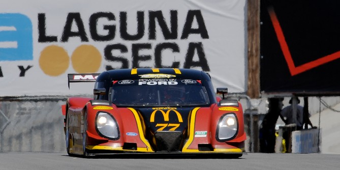 DORAN RACING JUST MISSES TOP-10 FINISH WITH THE McDONALD'S ENTRY IN VERIZON FESTIVAL OF SPEED AT MAZDA RACEWAY LAGUNA SECA