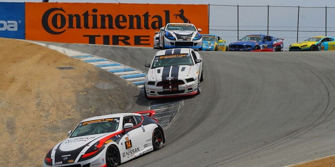 Doran Racing's Nissan 370Zs Finish Fifth and Sixth Saturday at Mazda Raceway Laguna Seca