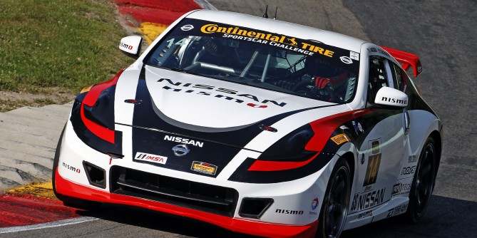 Both of Doran Racing's Nissan 370Zs Finish in the Top 10 In Saturday's Wild CTSCC Race at Road America