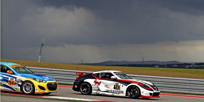 Doran Racing Battles Back to Finish Ninth In Friday's CTSCC Race at COTA