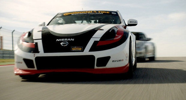 Two Doran Racing Nissan 370Zs As Well as Several More of Its Race Cars Are Featured in Nissan's Super Bowl Commercial