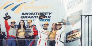 Jaeger and Zacharias Finish Third In Doran Racing Nissan 370Z #14 Saturday at Mazda Raceway Laguna Seca